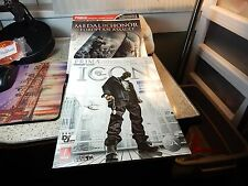 2-Prima Xbox360,PS2&3, Official Game Guide Cheat Booklets Medal of Honor,DefJam