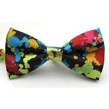 Men's Accessories Adjustable Printed Bow Ties For Wedding Party best sales