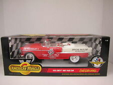 1955 CHEVY INDY PACE CAR - 1998 ERTL - American Muscle - 1/18 Scale - Die Cast
