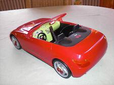 Barbie Cabrio rot mit Kirschfelgen - Cherry Sonder Edition - Kirsch Barbieauto