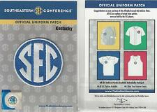 Kentucky SEC Conference Jersey Uniform Patch 100% Official College Football Logo