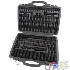 "119pcs PRO 1/2""dr.3/8""dr.impact Socket Set Car Van Truck in Case"