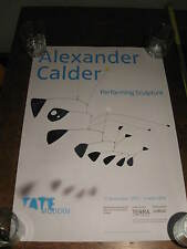 ALEXANDER CALDER: PERFORMING SCULPTURE -TATE GALLERY EXHIBITION POSTER
