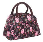 lovely owl small handbag clutch purse tote comestic bag lunch bag сумки