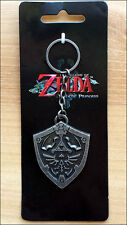 Nintendo Legend of Zelda Link Twilight Princess Metal Hylian Shield Key Chain