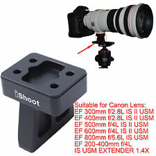 Lens Support Collar Tripod Mount Ring Foot for Canon EF 600mm f/4L IS II USM