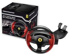 THRUSTMASTER FERRARI RACING WHEEL RED LEGEND EDITION VOLANTE+PEDALIERA PS3/PC