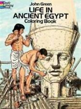 Life in Ancient Egypt Coloring Book (Dover History Coloring Book)-ExLibrary