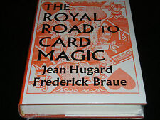 Magic book - Royal road to Card Magic - by Hugard and Braue -hard bound -new.