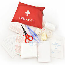 Portable First Aid Kit Bag Emergency Survival Preparedness Home/Outdoor/Travel