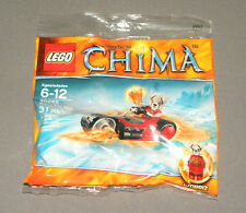 LEGO Chima Worriz' Fire Bike Set 30265 Legends of w Worriz Minifigure Motorcycle