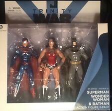 DC Comics New 52 Trinity War Batman Wonder Woman Superman 3 Figure Pack MINT