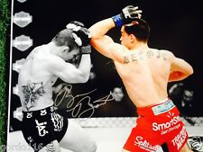 Ryan Benoit Baby Face MMA UFC Autographed 11x14 Signed Picture Photo Boxing JSA