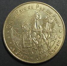 MONNAIE DE PARIS - LES EPESSES PUY DU FOU N°2 - LE STADIUM GALLO ROMAIN - 2003