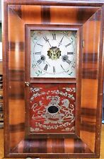 RARE Antique E.N. Welch Small Ogee Wall or Mantle Clock - c1865 - VGC - Runs