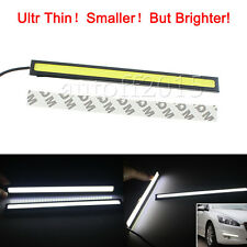 Super Bright White COB Car LED Lights DRL Fog Driving Lamp Waterproof DC 12V