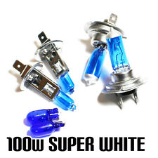 Ford Focus MK2 2.0 100w Super White Xenon HID Main/Dip/Side Light Beam Bulbs Kit