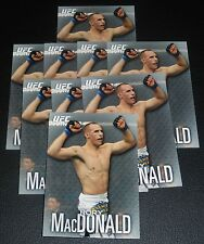 Rory MacDonald UFC 2012 Topps Knockout Card #39 115 129 133 145 167 Fight Night
