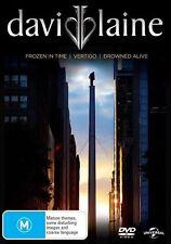 David Blaine:(Frozen in Time (2000) / Vertigo (2002 / Drowned Alive (2006) ) DVD