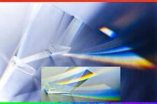 8 STÜCK  35.5 MM  PRISMA ZUR LICHTZERLEGUNG SPALTPRISMA   #TS-8