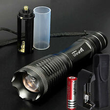 10000 lumen CREE XM-L T6 LED Flashlight Bike Torch Light Lamp +18650 Battery+CH