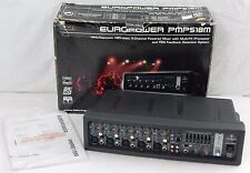 BEHRINGER EUROPOWER PMP518M (PMP 518 M) Powered Mixer Powers On - PARTS / REPAIR