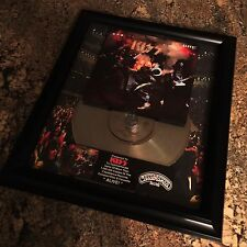 KISS ALIVE Platinum Record Disc Album Music Award  MTV Grammy RIAA Gene Simmons