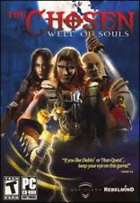 The Chosen: Well of Souls PC CD combat demons world chaos action hack RPG game!