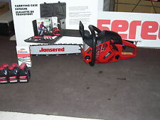 "New Jonsered CS 2255 Chainsaw with 20"" Bar, Carry Case, Extra Chain & Mix Oil!"