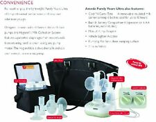 *** NEW*** // SEALED Ameda Purely Yours ULTRA Dual Electric Breast Pump In Style
