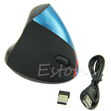 USB Wireless Ergonomic Wrist Healing Vertical Optical Mouse For PC Laptop MAC