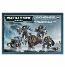 SPACE WOLVES WOLF GUARD TERMINATORS - WARHAMMER 40,000 40K - GAMES WORKSHOP