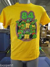 Mens Licensed Teenage Mutant Ninja Turtles 84 Shirt New L