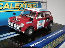 SCALEXTRIC MINI COOPER S C3100 1000 LAKES BNIB RARE AND VERY COLLECTABLE