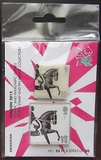 SG2987 Equestrian - London 2012 Olympics & Paralympics Pin Badge & Stamp
