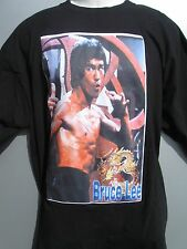 Bruce Lee Ready Pose T shirt Black size XXXL 3XL Korea import
