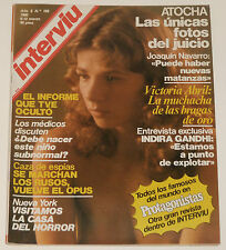 INTERVIU #199 1980 Victoria Abril desnuda nude spanish men's magazine