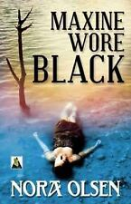 Lesbian BooK:  MAXINE WORE BLACK by NORA OLSEN , NEW MINT 2014