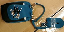 San Jose Sharks Purse Plus Touch Phone ID Wallet Charm 14 Gift Bag Compact NHL