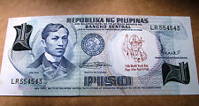 POPE JOHN PAUL 2 Visit 10th World Youth  1 peso JOSE RIZAL BANKNOTE PHILIPPINE