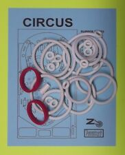 1977 Zaccaria Circus pinball rubber ring kit