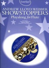 Guest Spot Andrew Lloyd Webber Showstoppers Flute Sheet Music Book CD B63 S159