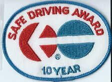 North American Van Lines 10 Year truck driver patch 3 X 4