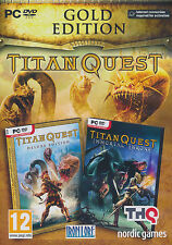 Titan Quest Gold  PC Windows XP/VISTA/7/8 Brand New Sealed