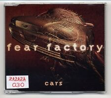 Fear Factory Maxi-CD Cars - 3-track feat. Gary Numan of Tubeway Army