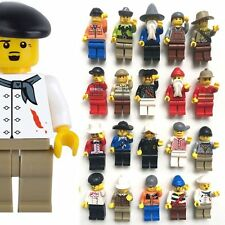 20pcs Casuale Uomini Minifigures persone Professionale Ruolo minifigures Toy