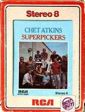 CHET ATKINS Superpickers  8 TRACK TAPE  CARTRIDGE