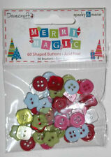 Dovecraft 'Merry Magic' Mini Buttons