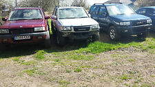 VAUXHALL FRONTERA 2.2 PETROL BREAKING FOR PARTS COMPLETE GEARBOX