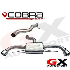 AU60 Cobra Audi TT 3.2 V6 Mk2 4WD Quattro 07-11 Cat Back System Non Resonated